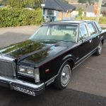 1981 Lincoln Town Car Signature Series Anne Marie og Einar Hart